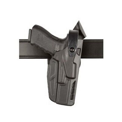 Safariland 7360-2832-411 Mid-Ride Duty Holster STX Plain RH Fits Glock 19 w/M3