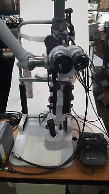 Carl Zeiss 30SL Slit Lamp w/ lazerlink foot control remote  power hi lo table