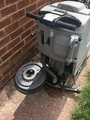 Abila Floor Scrubber hoover cleaner  battery powered in good working order