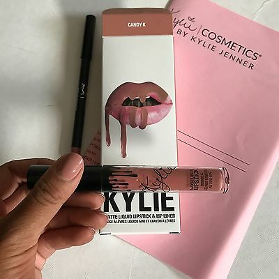 Genuine CANDY K LIP KIT With Receipt by Kylie Cosmetics Liquid Matte Lipstick