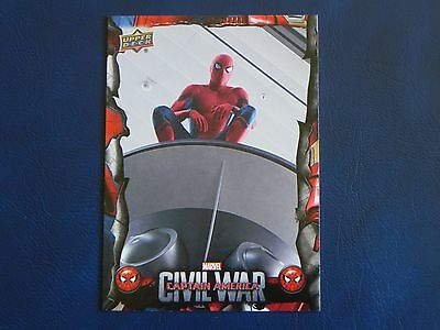 2017 UD Spider-Man Homecoming Civil War Images CW2 WALMART EXCLUSIVES