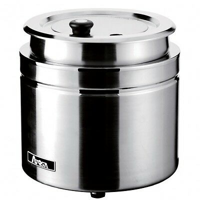 Atosa AT51388 11 Qt. Stainless Steel Countertop Soup Kettle Warmer - 120V, 800W