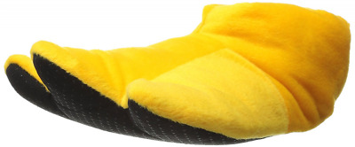 Wishpets Yellow Duck Feet Plush Animal Slippers