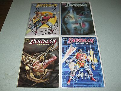 Deathlok #1 - 4 Mini Series All Signed