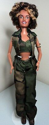 SPICE GIRLS SCARY SPICE MELANIE BROWN Celebrity doll in original fashion outfit