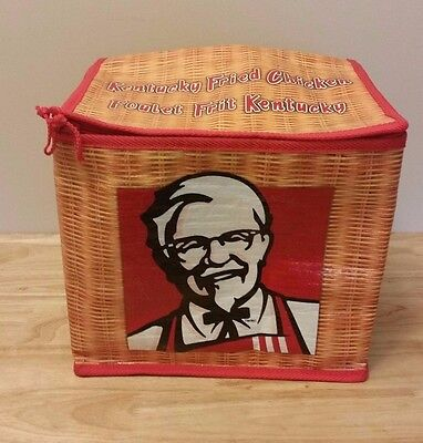 Kfc Kentucky Fried Chicken Insulated Cooler Thermal Lunch Picnic Bag Canadian