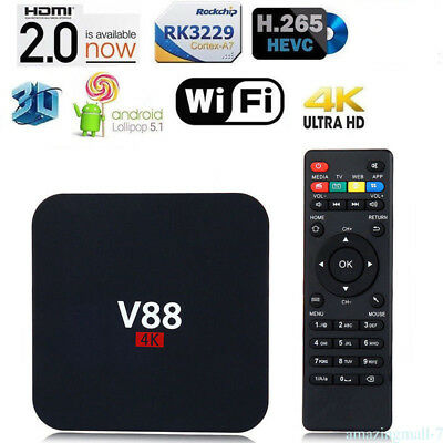 New Pro+ 4K Android 6.0 RK3229 Octa Core Dual WiFi Smart TV Box Perfect Quality