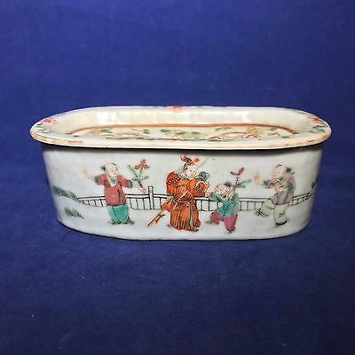 """Antique Chinese Porcelain Famille Rose """"Cricket Cage"""""""