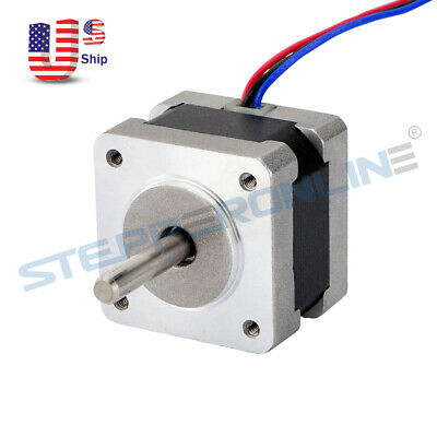Nema 14 Bipolar Stepper Motor 0.9deg 0.4A 11Ncm(15.6oz.in) 3D Printer