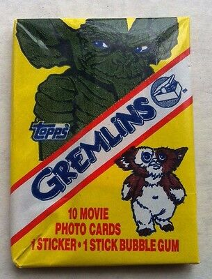 Gremlins Wax Card Pack