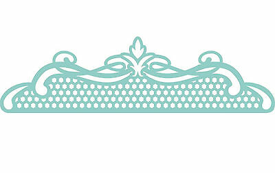 Lace Topper Kaisercraft Decorative Die for Cardmaking,Scrapbooking, etc