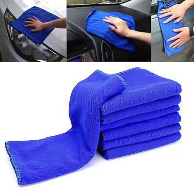 2PCS Microfiber Cloths Towels Car Cleaning House Deep Wash Duster Dry 30 X 30CM