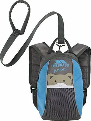 Baby   Toddler Safety Backpack Walking Harness with Reins Blue