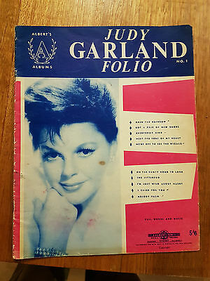 Judy Garland  Song Folio , Music Sheets , 31 Pages