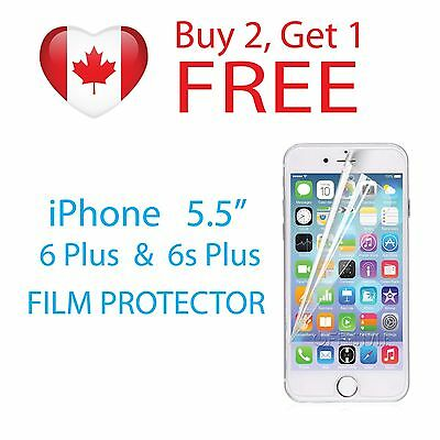 """Clear Protective Film Screen Protector for 5.5"""" Apple iPhone 6 PLUS & 6s PLUS"""