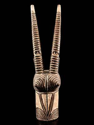 Mask From The Bwa People Of Burkina Faso Including Stand