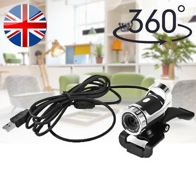 12.0 MP USB HD Webcam Web Cam Camera W/ Mic Microphone for Laptop Desktop Skype