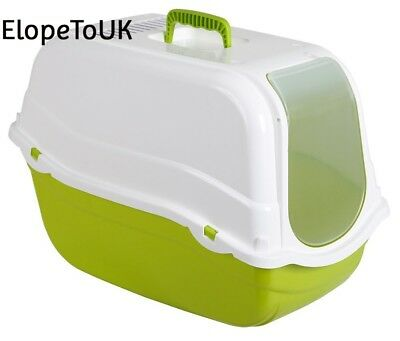 Kerbl Litter Box Minka, 57 x 39 41 cm, Green White