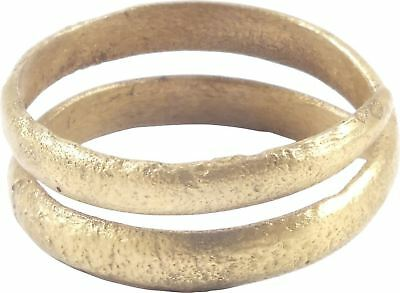 ANCIENT VIKING RING Wedding Band Jewelry  850-1050 AD Size 7 ¼. 17.6mm( AM67)