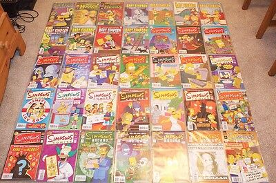 The simpsons comics collection.!!