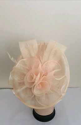 Elegant Headband And Clip Hat Fascinator Wedding/Ladies day/Race Royal Ascot
