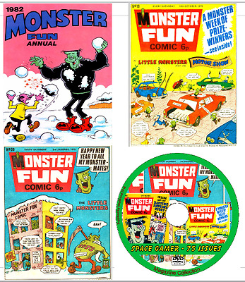 Monster Fun 75 Comics on DVD