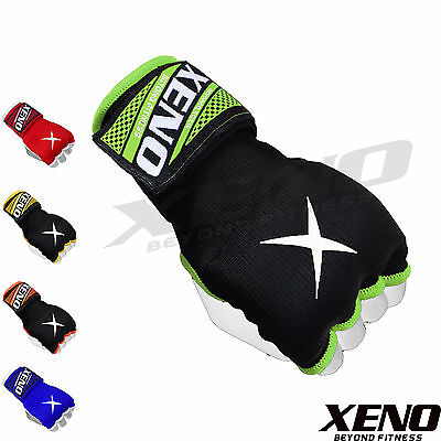 Xeno Inner Quick Hand Wraps Gloves Boxing Fist Gel Padded Bandages MMA Thai