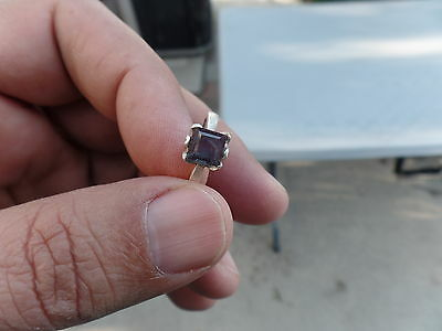 Alexandrite Ring Natural Color Change
