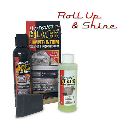 Forever Black Bumper&Trim Recondition Kit NEW VERSION 6oz BOTTLE