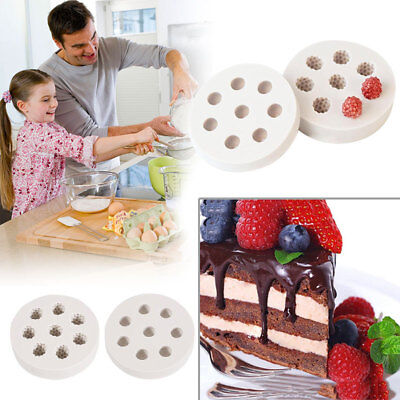 3D Blueberry Mulberry Cake Mold Silicone DIY Craft Kitchen Baking Tool Mould
