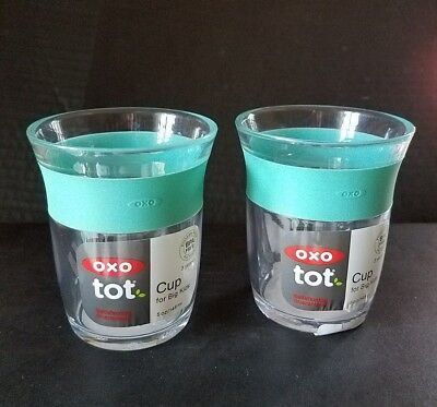 OXO Tot Cup for Big Kids with Non Slip Grip - Green