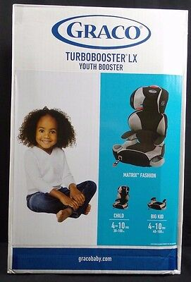 Graco Turbobooster LX Youth Booster, Matrix Fashion, Model 1965983