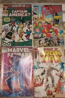 Lot of 12 MARVEL / DC Comic Books and miscellaneous Comic Books