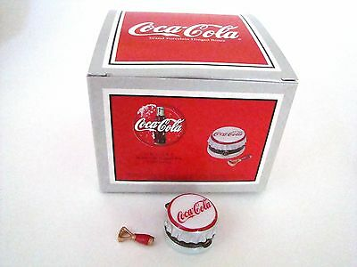 PHB Midwest of Cannon Falls Hinged Box Coca-Cola Bottle Cap with Opener