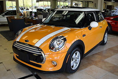 2014 Mini Cooper  2014 MINI Cooper Hardtop in Volcanic Orange Factory War
