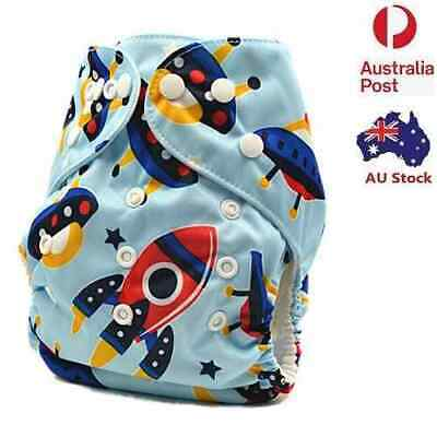 Modern Cloth Nappies MCN Nappy Diaper Waterproof-Outer-Layer Adjustable (D179)