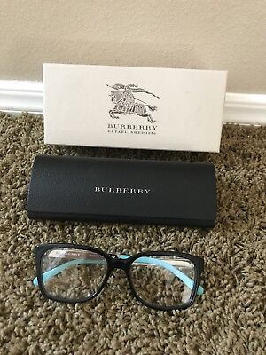 7d192df37065 Burberry BE2143 Eyeglasses Optical Made in Italy Black and Mint
