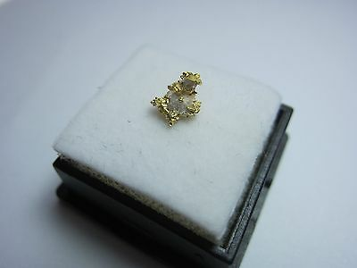 GOLD - Little Johnny Lucky Boy Claim, Georgetown, California USA 0.26g NICE