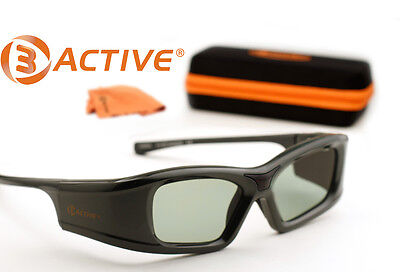 SONY-Compatible 3ACTIVE® 3D Glasses. Rechargeable. TWO PAIRS
