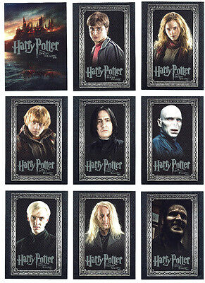 Harry Potter and the Deathly Hallows Part 1 1-90 Complete Base Card Set Artbox