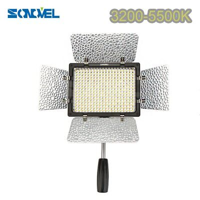 Yongnuo YN-300 III 3200K-5500K Pro LED Video Light for DV Camcorder Canon Nikon