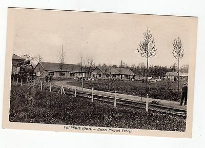 CPA 60 - Verberie ( Oise ) - usines Pingeot frères