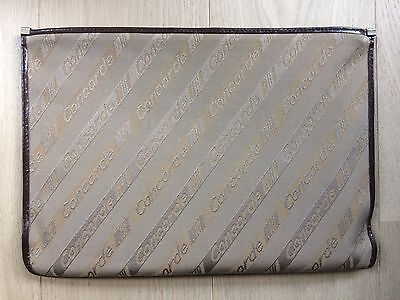 Concorde Air France document holder contour leather