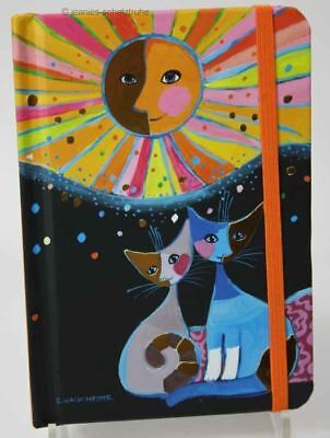 Notizbuch Katze Rosina Wachtmeister happiness is shared
