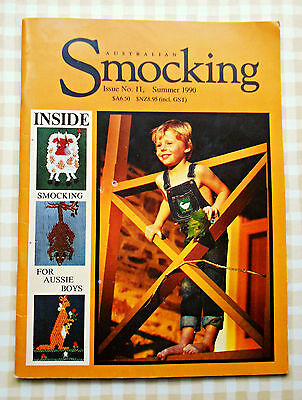 AUSTRALIAN  SMOCKING ~ OOP Issue No. 11 ~ Summer 2009 ~ SC Book