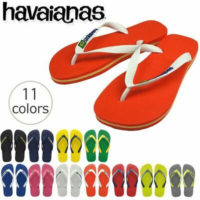 a8b0f89d383970 Havaianas Brasil Logo Men s Youth Flip Flops Sandals Vary Size   Colors
