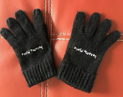 Sesame Place Gloves, Toddler Size 2-4T, Authentic, Winter Mittens Boys Girls