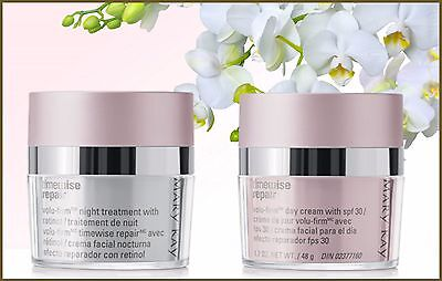 Mary Kay TimeWise Repair  Night Treatment with Retinol & Day Cream With SPF 30