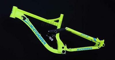 """26""""/27.5"""" 650B  Downhill Suspension Mountain Bike  DH Frame with RS  Rear Shock"""