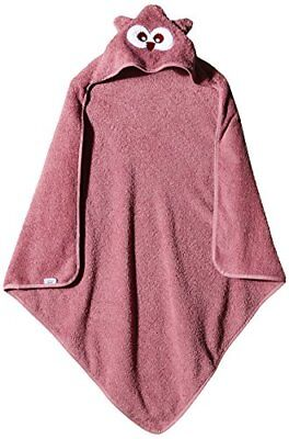 Pippi Hooded Towel W.Face, Vestaglia Unisex Bimbi, Rose, One Size (w3t)
